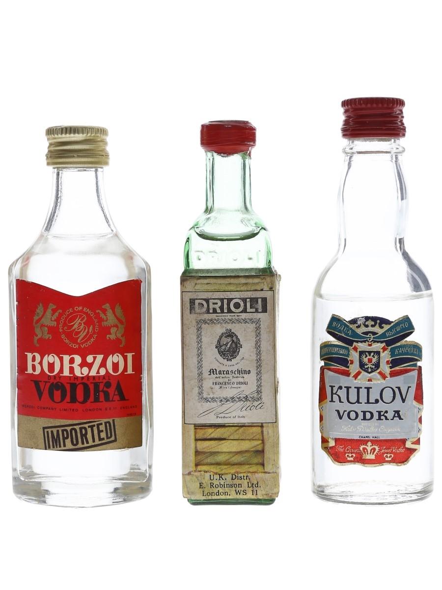 Assorted Vodka & Maraschino  3 x 5cl