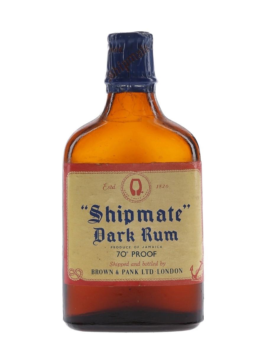 Shipmate Dark Rum Bottled 1950s-1960s 5cl / 40%