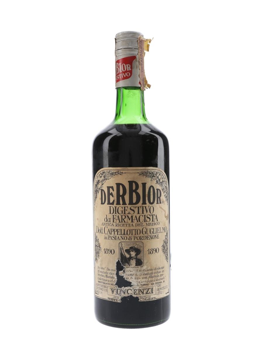 Derbior Digestivo Da Farmacista Bottled 1960s 100cl / 19%