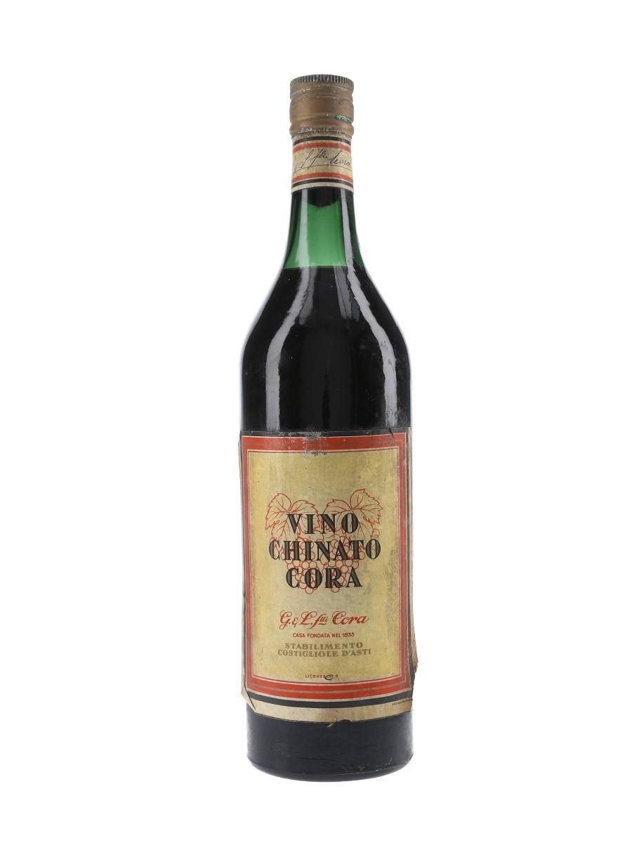 Cora Vino Chinato Bottled 1950s 100cl