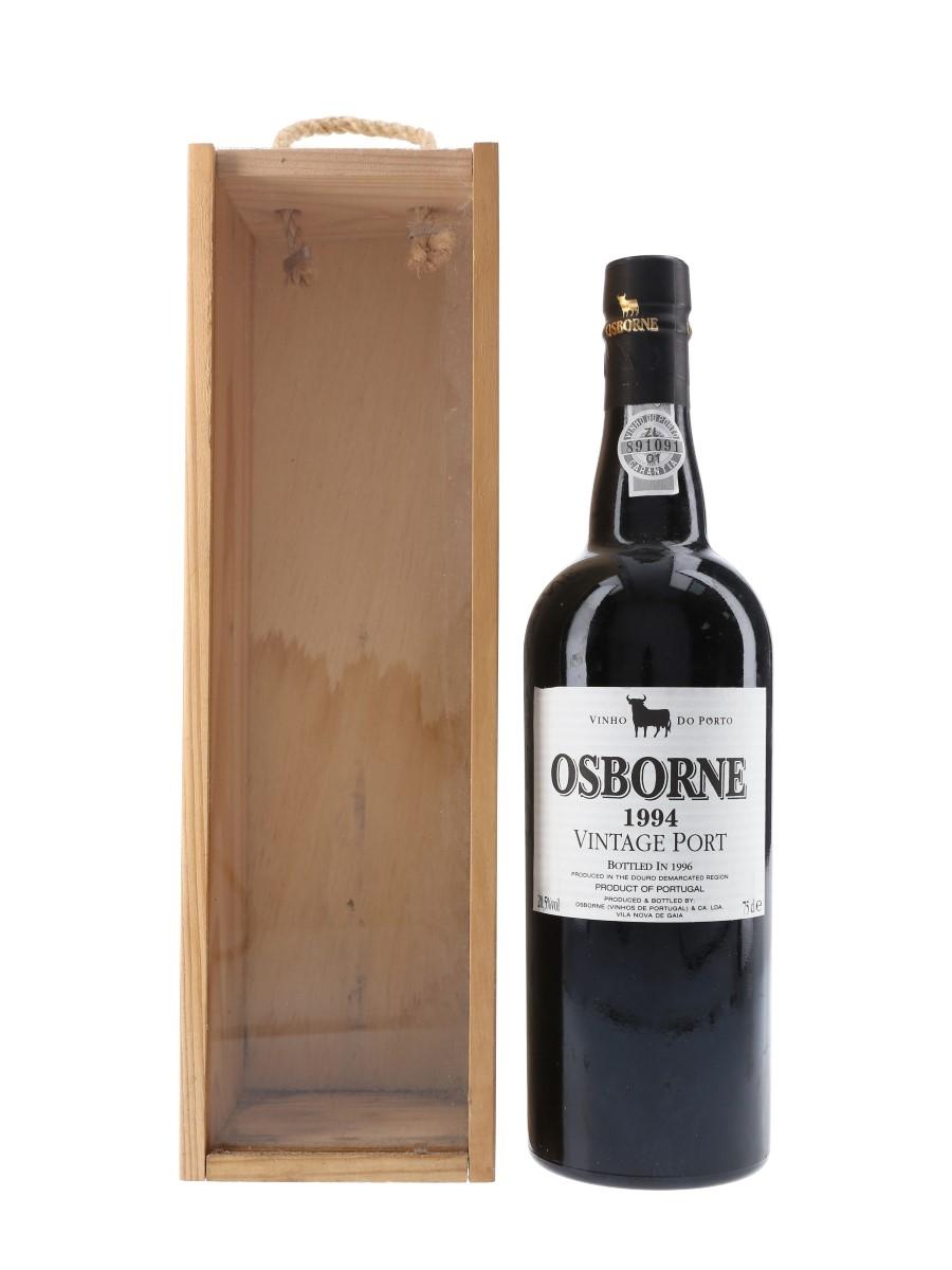 Osborne 1994 Vintage Port Bottled 1996 75cl / 20.5%