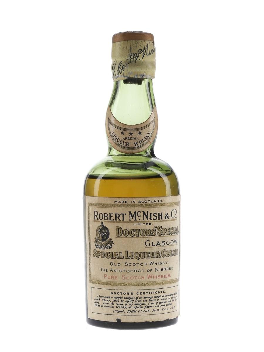 Doctors' Special Bottled 1920s-1930s - Robert McNish & Co. 5cl