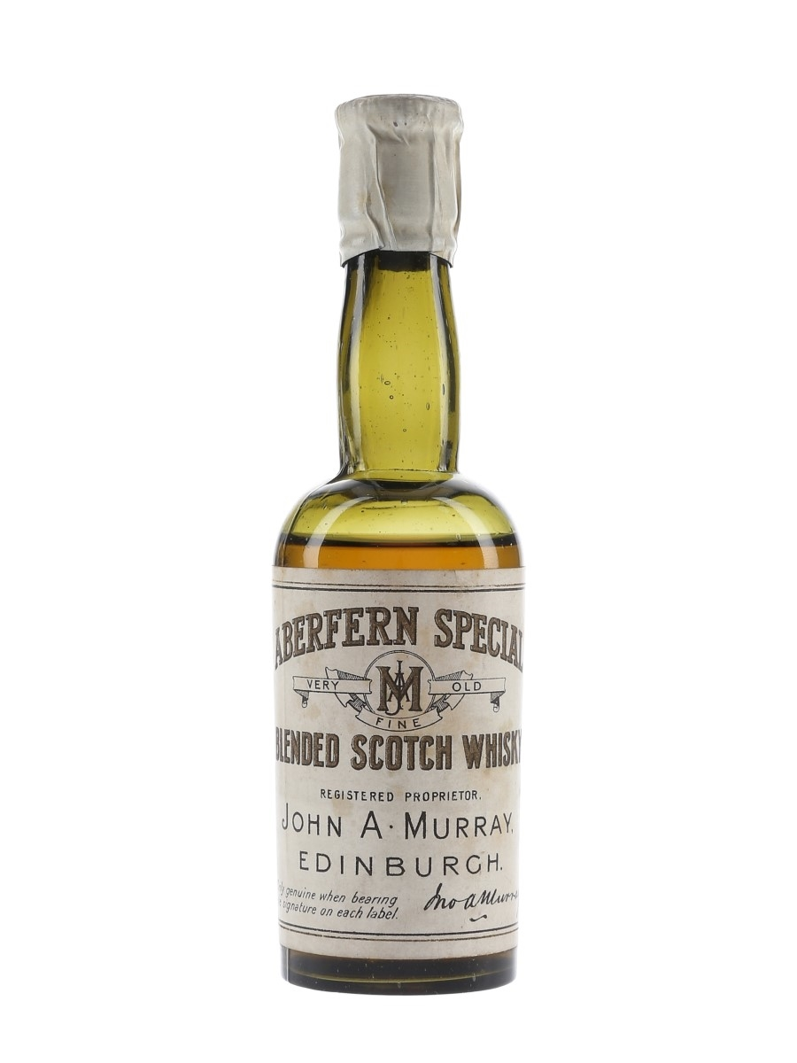 Aberfern Special Bottled 1920s-1930s - John A Murray 5cl