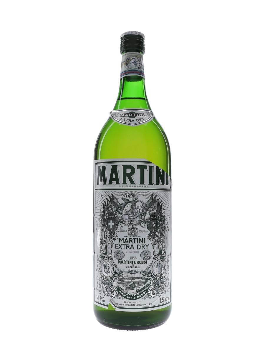 Martini Extra Dry Bottled 1980s - Large Format 150cl / 14.7%