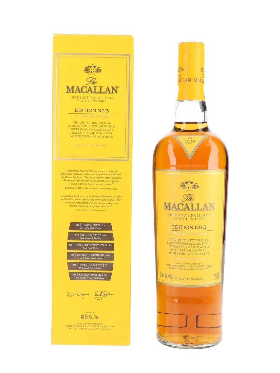 Macallan Edition No.3  75cl / 48.3%