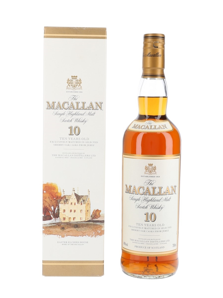 Macallan 10 Year Old Bottled Early 2000s 70cl / 40%