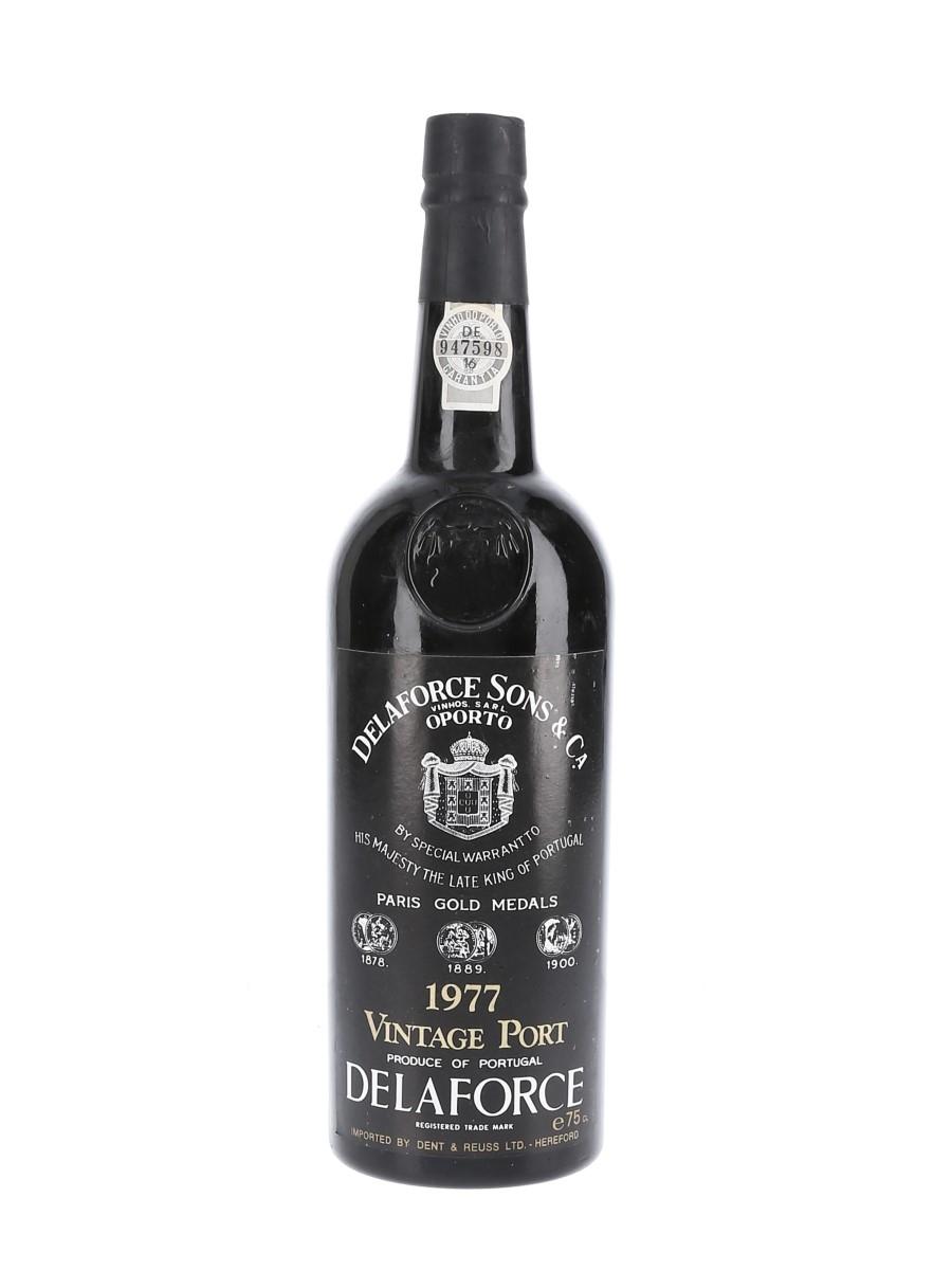 Delaforce 1977 Vintage Port Dent & Reuss Ltd. 75cl