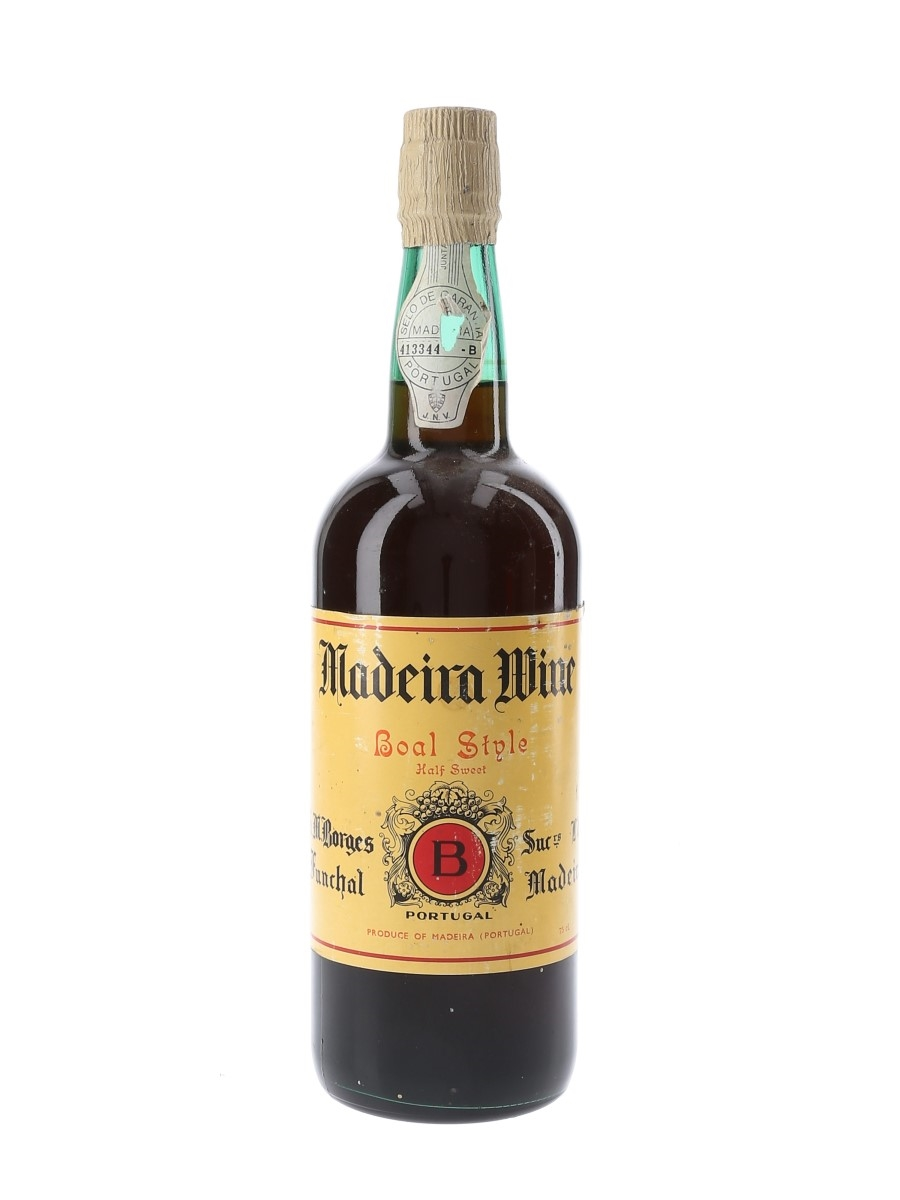 Borges Boal Style Madeira Wine  75cl