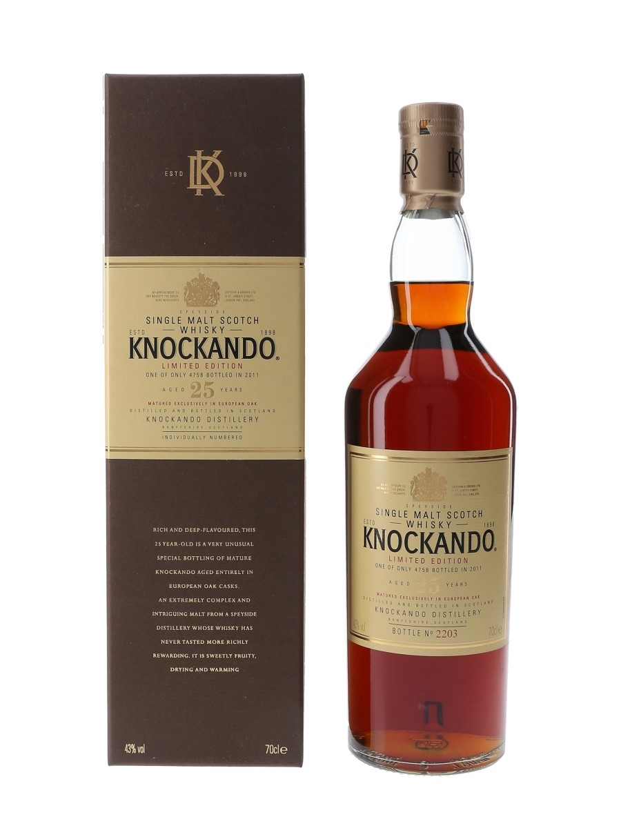 Knockando 25 Year Old Special Releases 2011 70cl / 43%