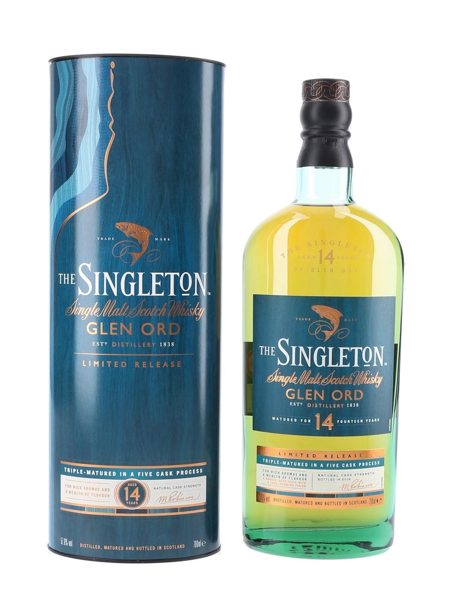 Singleton Of Glen Ord 2002 14 Year Old Special Releases 2018 70cl / 57.6%