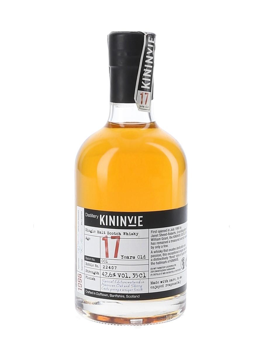 Kininvie 1996 17 Year Old  35cl / 42.6%