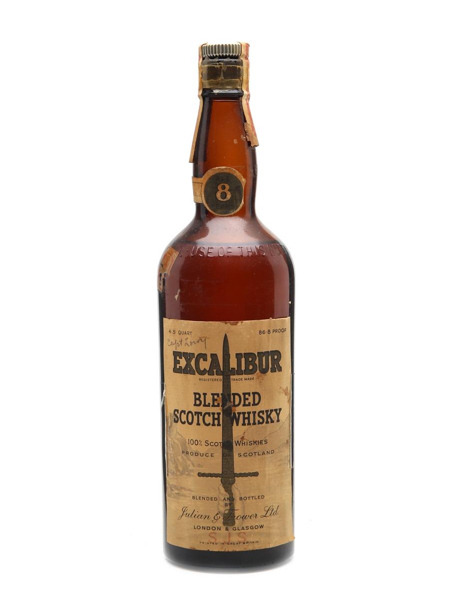 Excalibur 8 Year Old Bottled 1940s 75cl