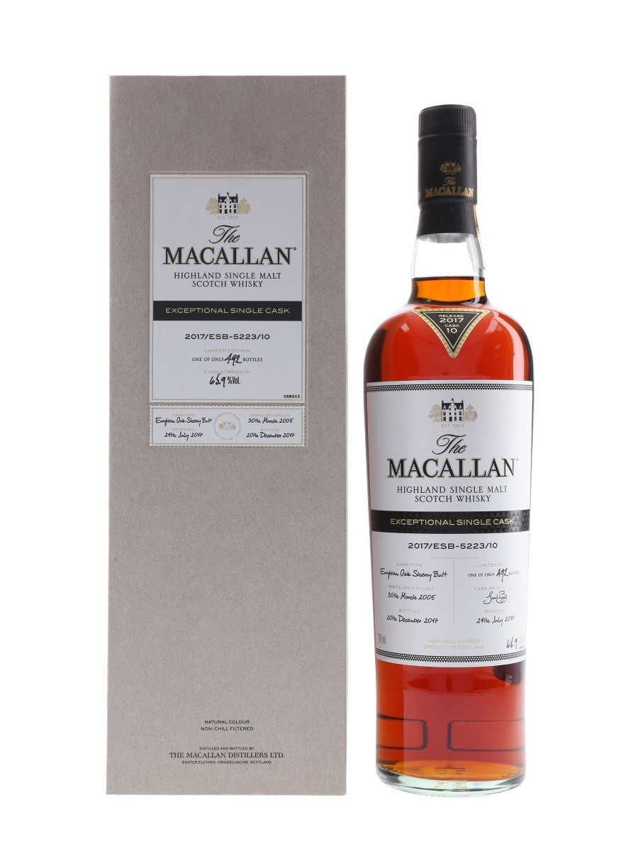 Macallan 2005 Exceptional Single Cask 10 70cl / 65.9%