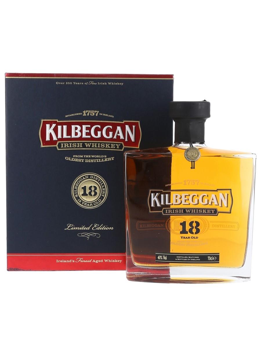 Kilbeggan 18 Year Old Bottled 2011 - Limited Edition 70cl / 40%