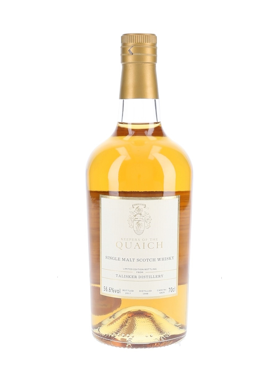 Talisker 1998 Bottled 2017 - The Keepers Of The Quaich 70cl / 56.6%