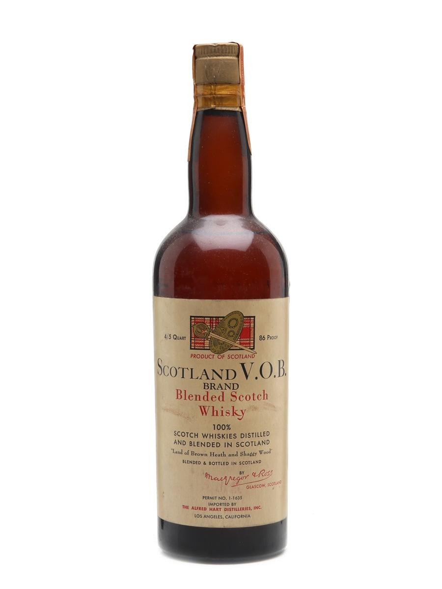 Scotland V.O.B. Bottled 1940s 75cl