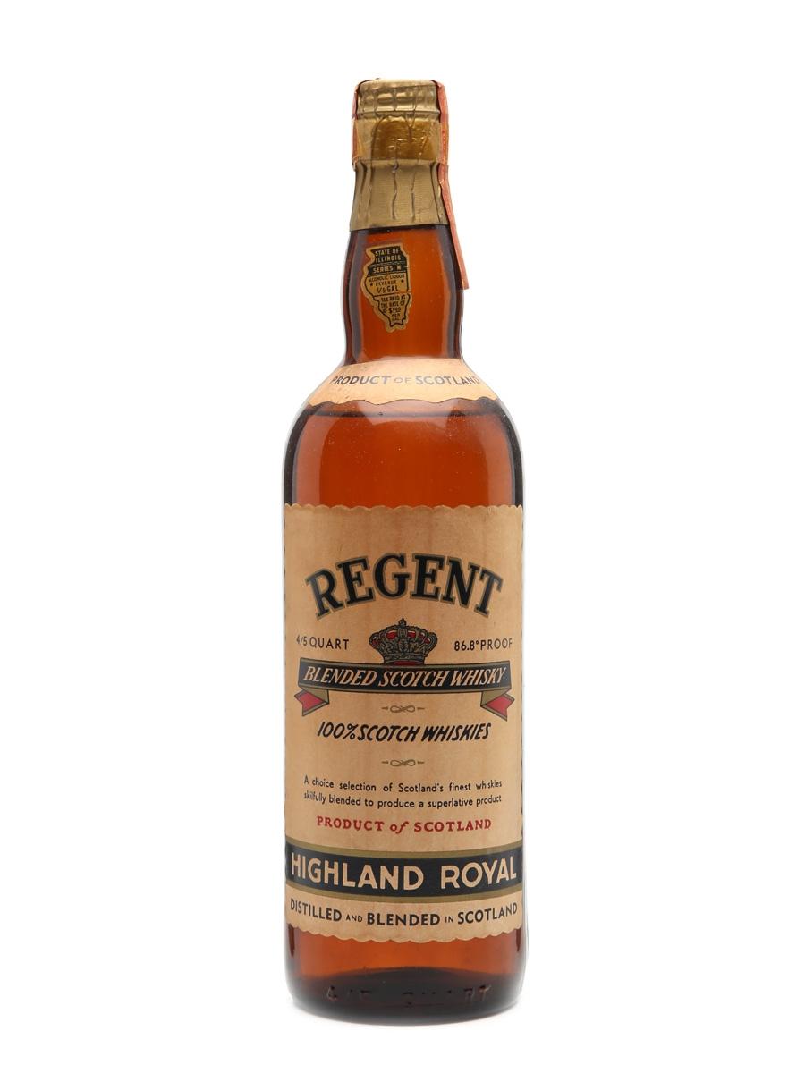 Regent Bottled 1940s 75cl