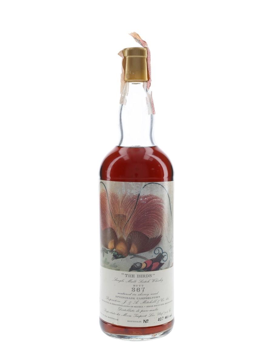Springbank 1965 The Birds Cask #367 Bottled 1987 - Moon Import 75cl / 46%