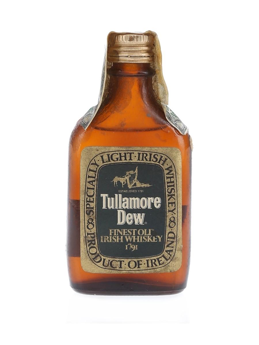 Tullamore Dew Bottled 1970s - Spirit 4.68cl / 40%