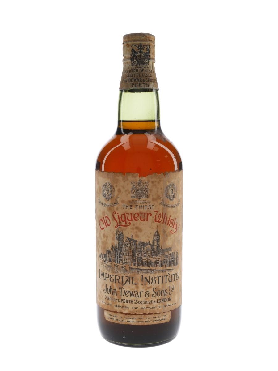 Imperial Institute Spring Cap Bottled 1950s - John Dewar & Son Ltd. 75cl