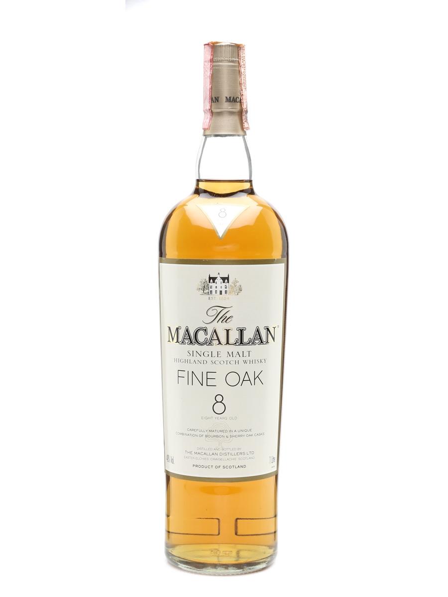 Macallan Fine Oak 8 Years Old 100cl