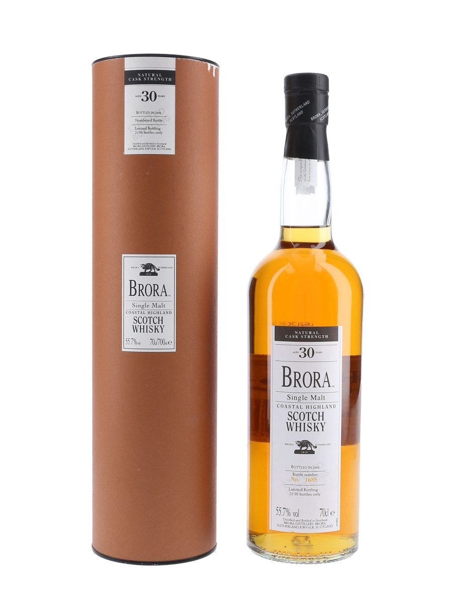 Brora 30 Year Old 5th Release Special Releases 2006 70cl / 55.7%