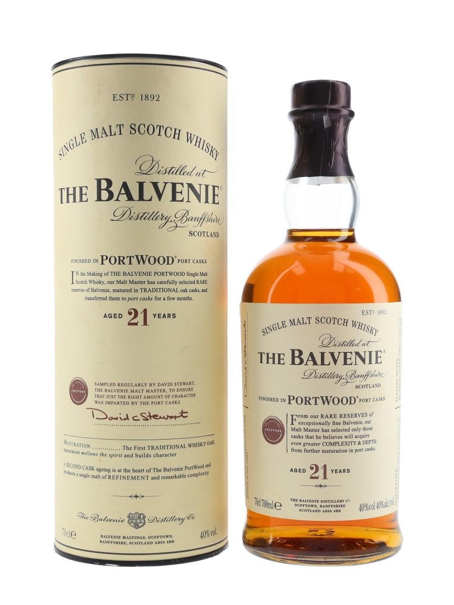 balvenie 21yr portwood maláta whisky)