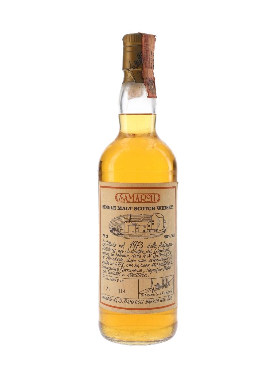 Aultmore 1973 Bottled 1980s - Samaroli 75cl / 58%