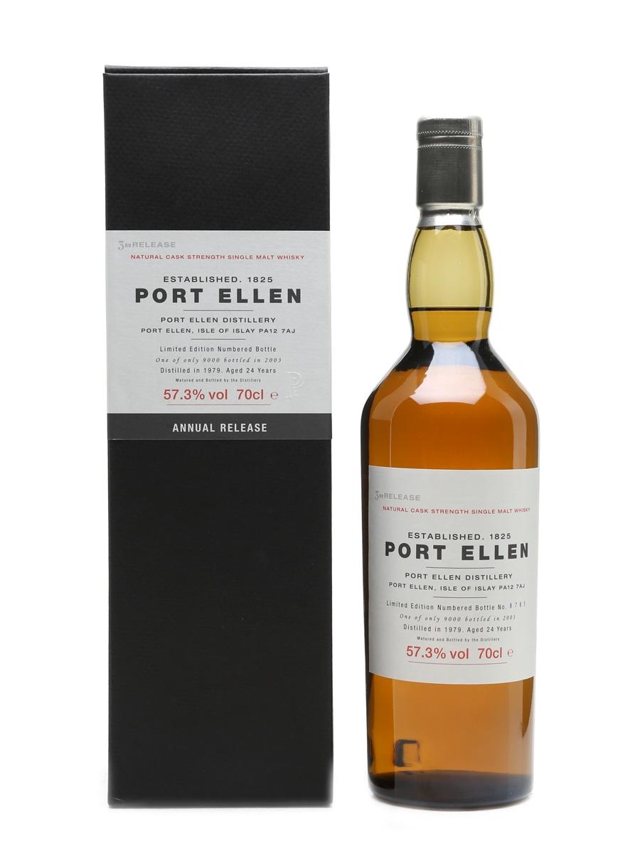 Port Ellen 1979 – 3rd Release 24 Years Old 70cl