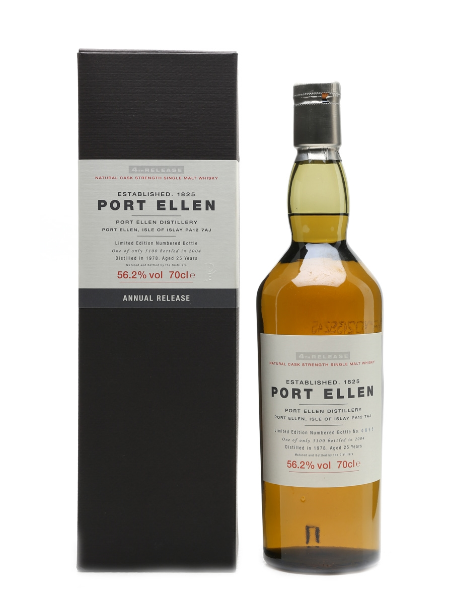 Port Ellen 1978 – 4th Release 27 Years Old 70cl