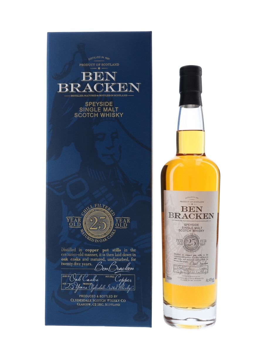 Ben Bracken 1991 25 Year Old Clydesdale Scotch Whisky Co. 70cl / 40%