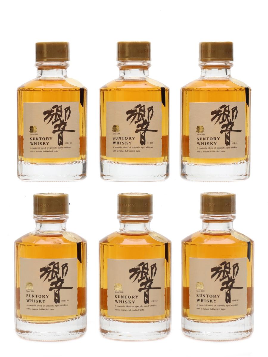 Suntory Hibiki Bottled 1980s 6 x 5cl / 43%