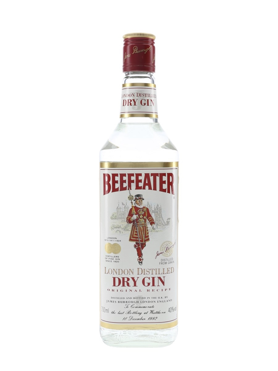Beefeater Last Bottling At Westthorn 1992 70cl / 40%