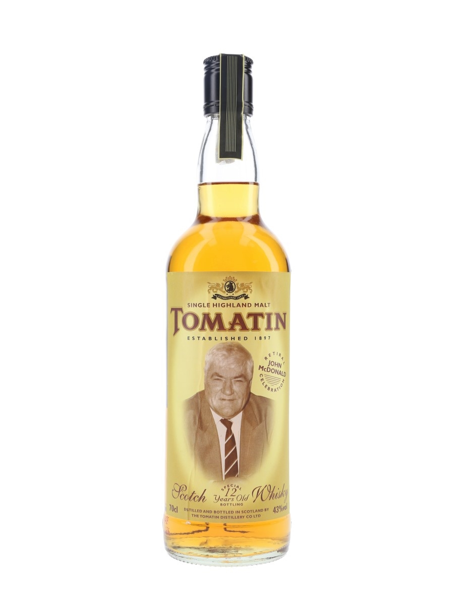 Tomatin 12 Year Old John McDonald Commemorative 70cl / 43%
