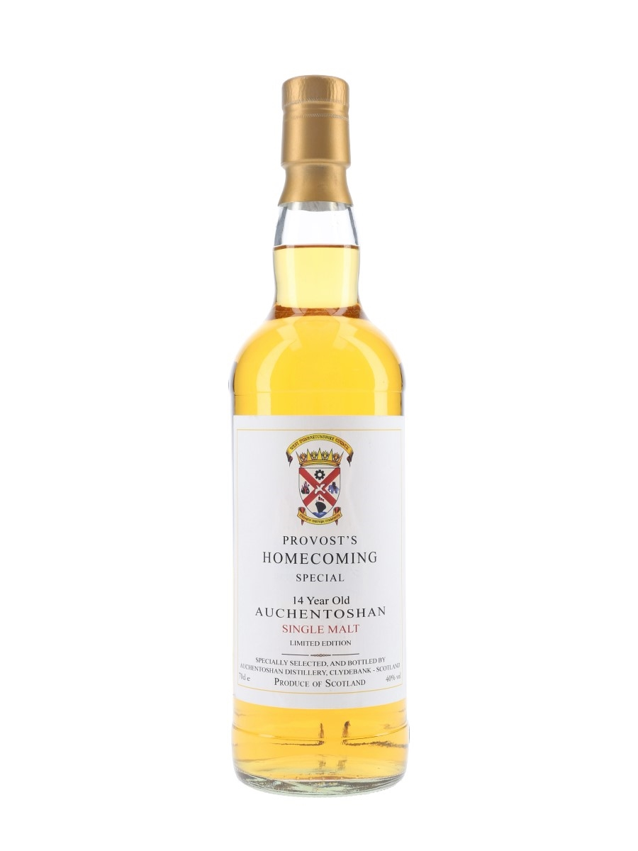 Auchentoshan 14 Year Old Provost's Homecoming 70cl / 40%