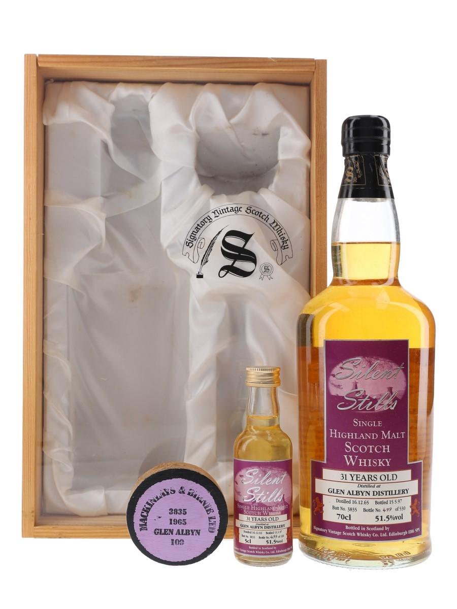 Glen Albyn 1965 31 Year Old Silent Stills Bottled 1997 - Signatory Vintage 5cl & 70cl / 51.5%