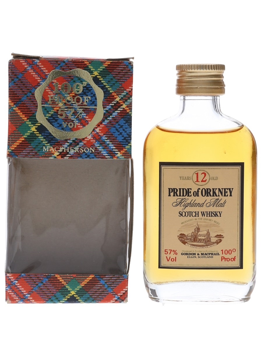 Pride Of Orkney 12 Year Old 100 Proof Gordon & MacPhail 5cl / 57%