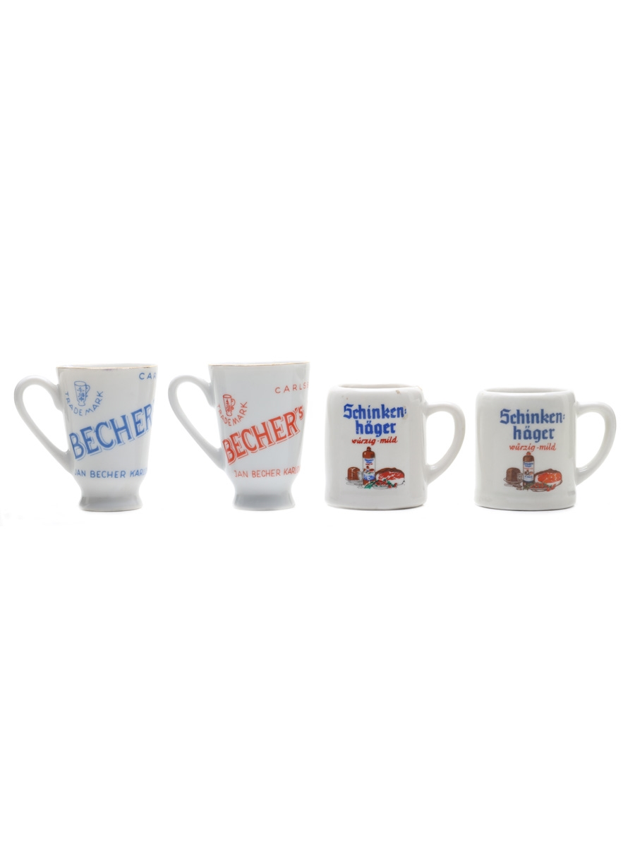 Carlsbad & Shinkenhager Cups