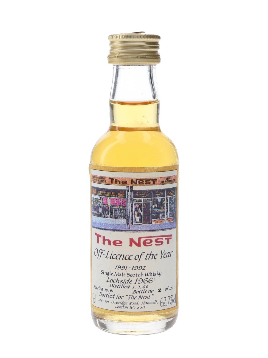 Lochside 1966 The Nest Bottled 1991 - Bottle Number 2 5cl / 62.7%