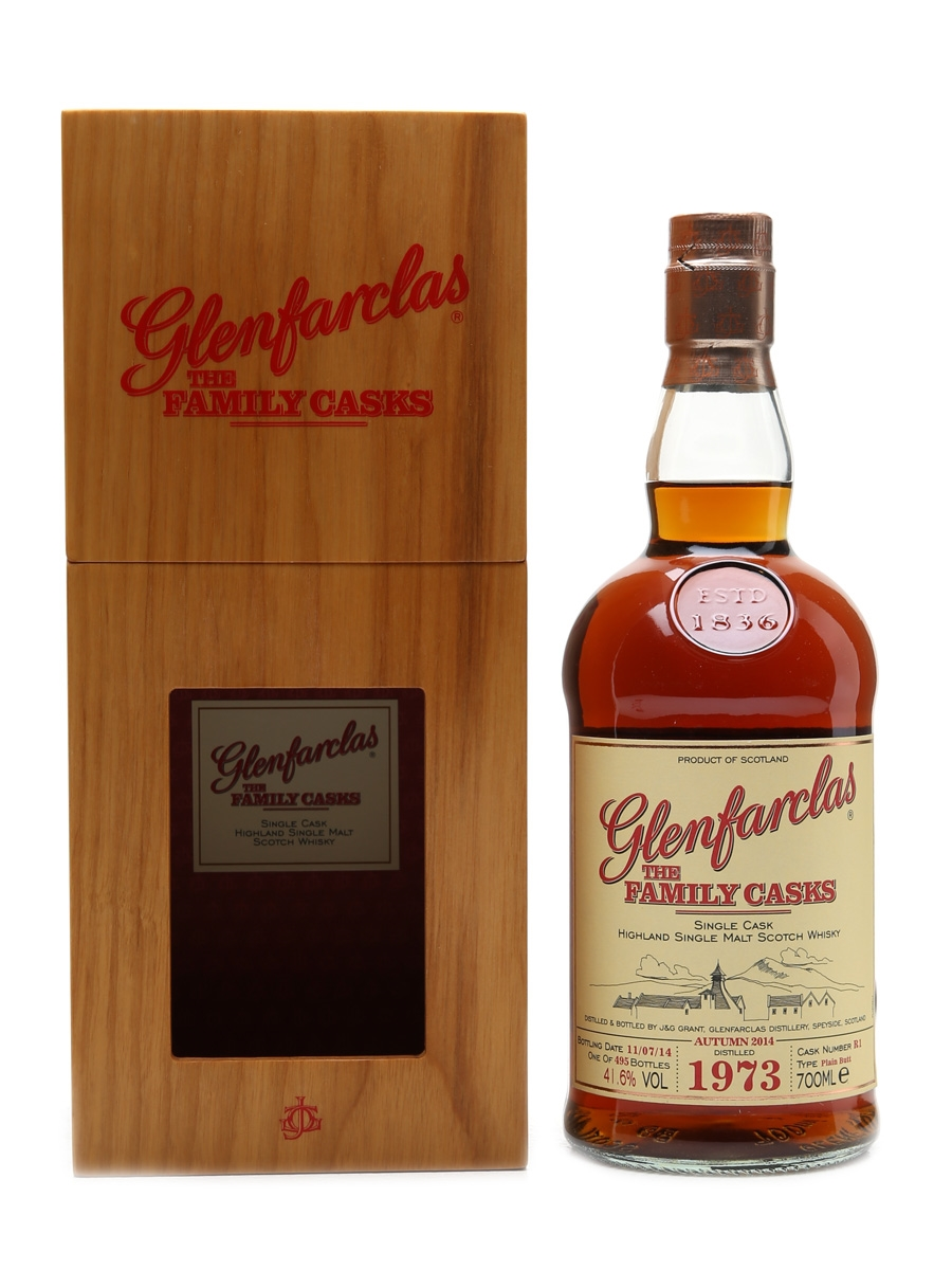 Glenfarclas 1973 Family Cask Cask #R1 70cl / 41.6%