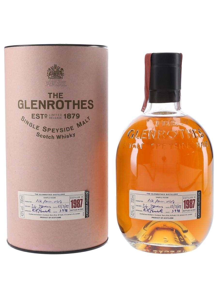 Glenrothes 1987 Bottled 2000 70cl / 43%