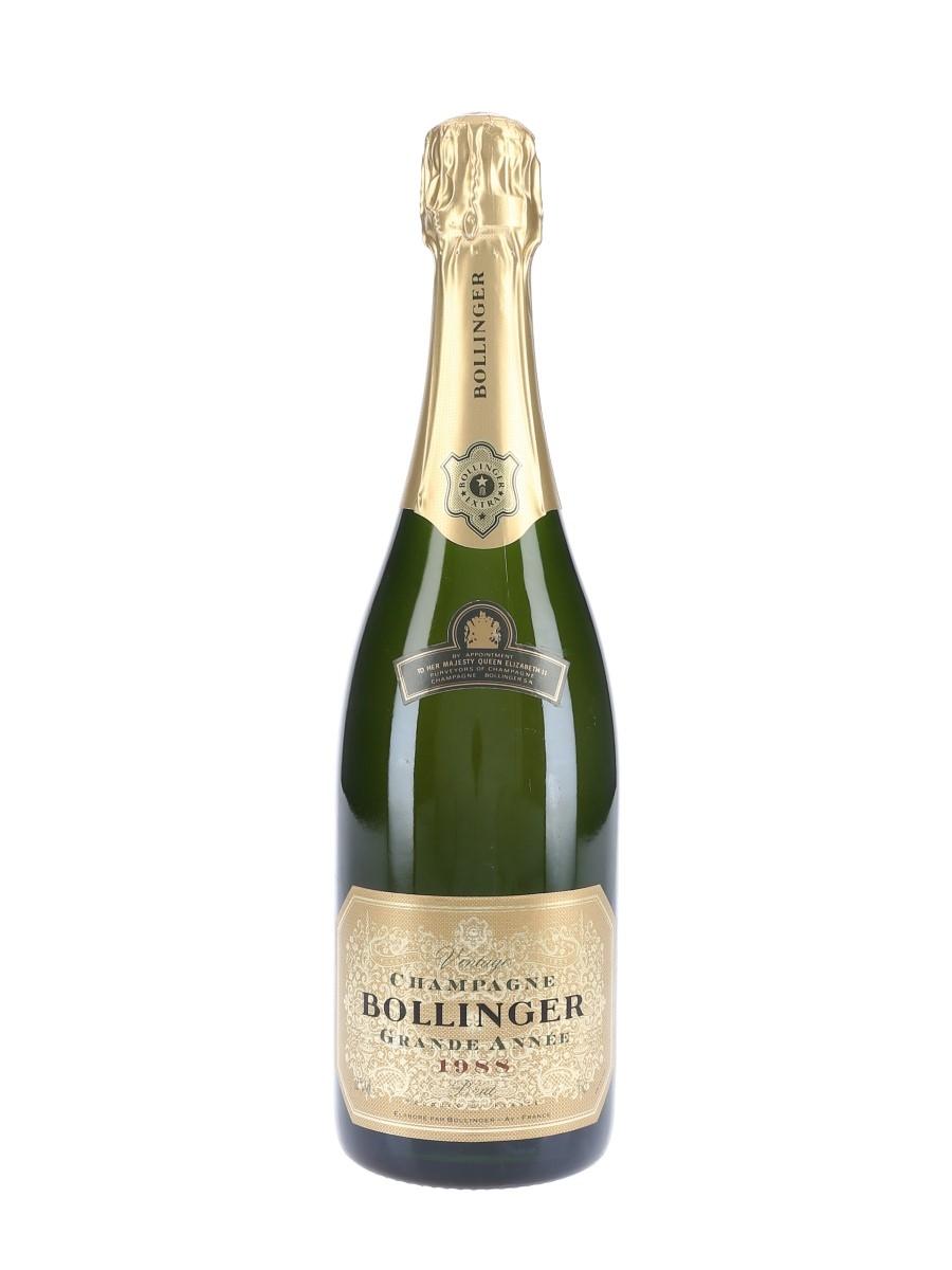 Bollinger Grande Année 1988  75cl / 12%