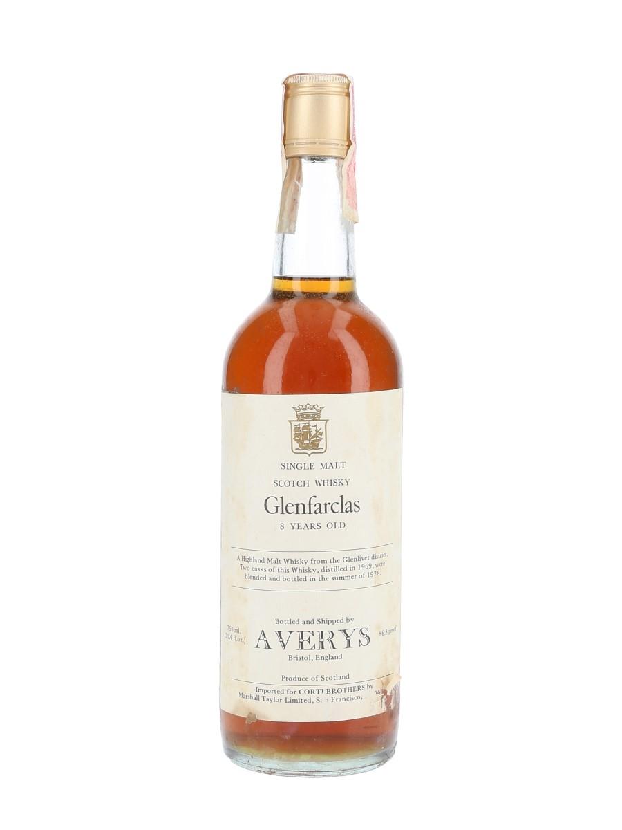 Glenfarclas 1969 8 Year Old Bottled 1978 - Corti Brothers - Signed Bottle 75cl / 43.4%