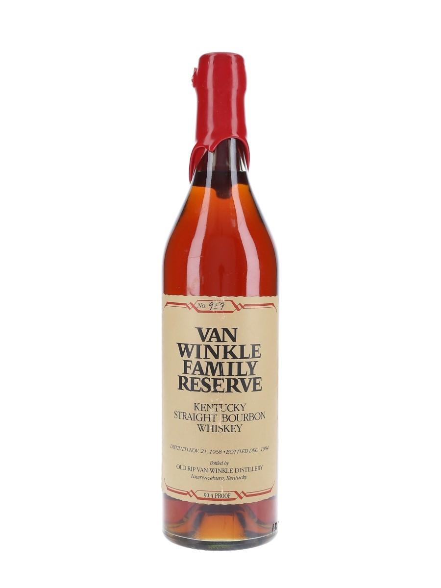 Van Winkle 1968 Family Reserve Bottled 1984 - Stitzel-Weller 75cl / 45.2%