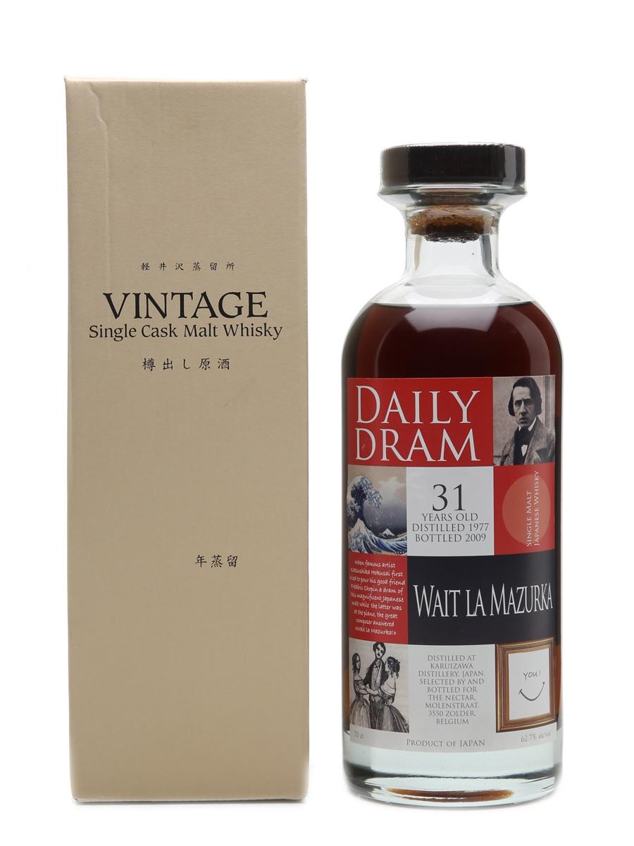 Karuizawa 1977 Wait La Mazurka Daily Dram - 200 Bottles 70cl / 62.7%