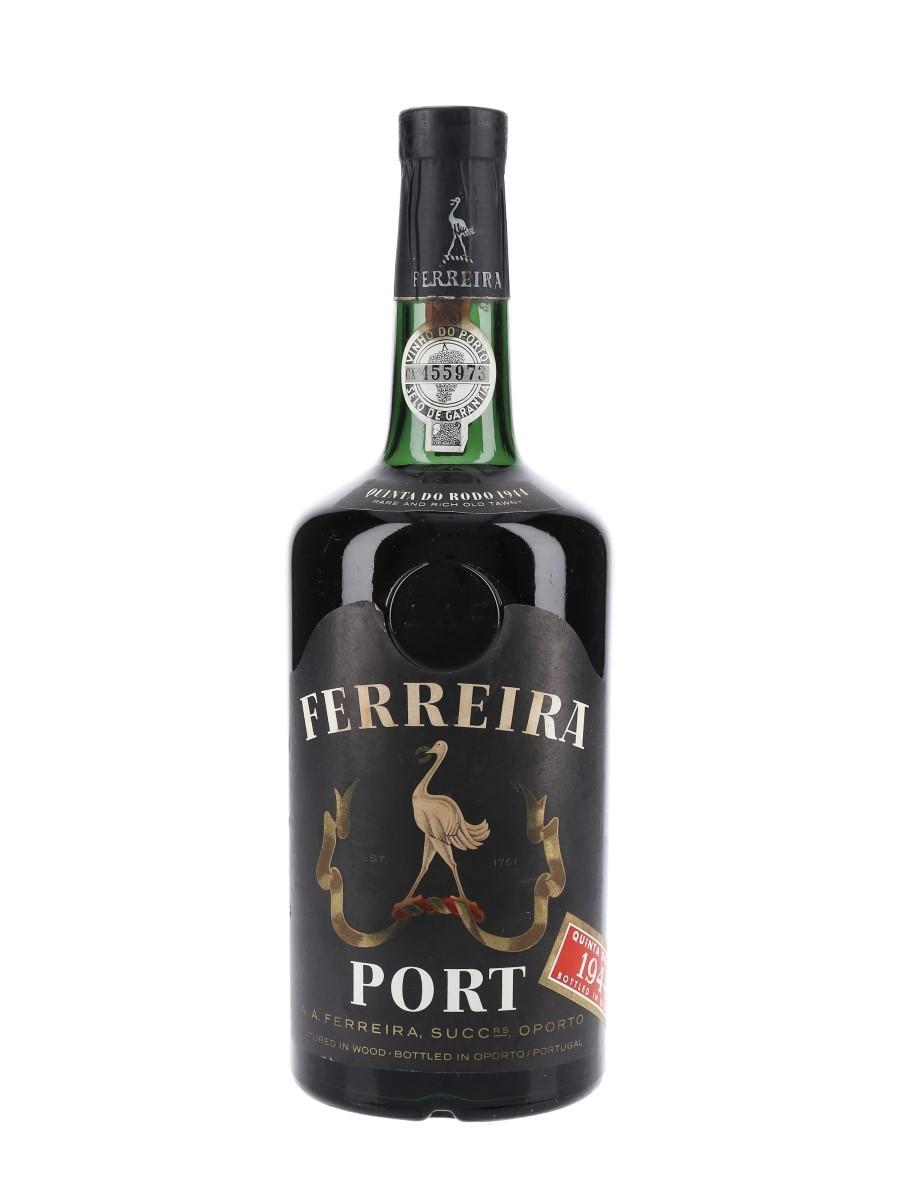 Ferreira Quinta Do Rodo 1944 Colheita Port  75cl / 19%