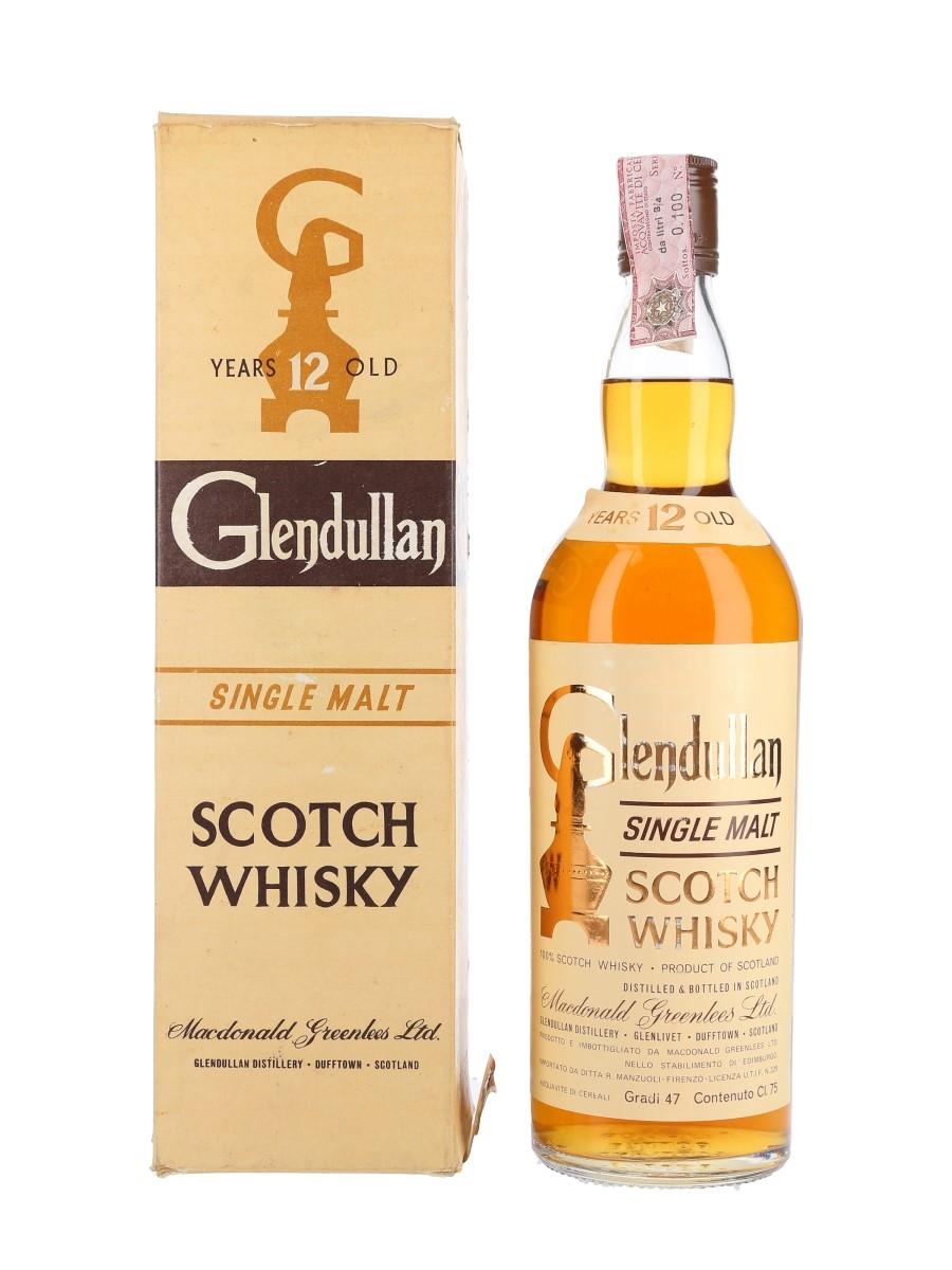 Glendullan 12 Year Old Bottled 1970s - Manzuoli 75cl / 47%