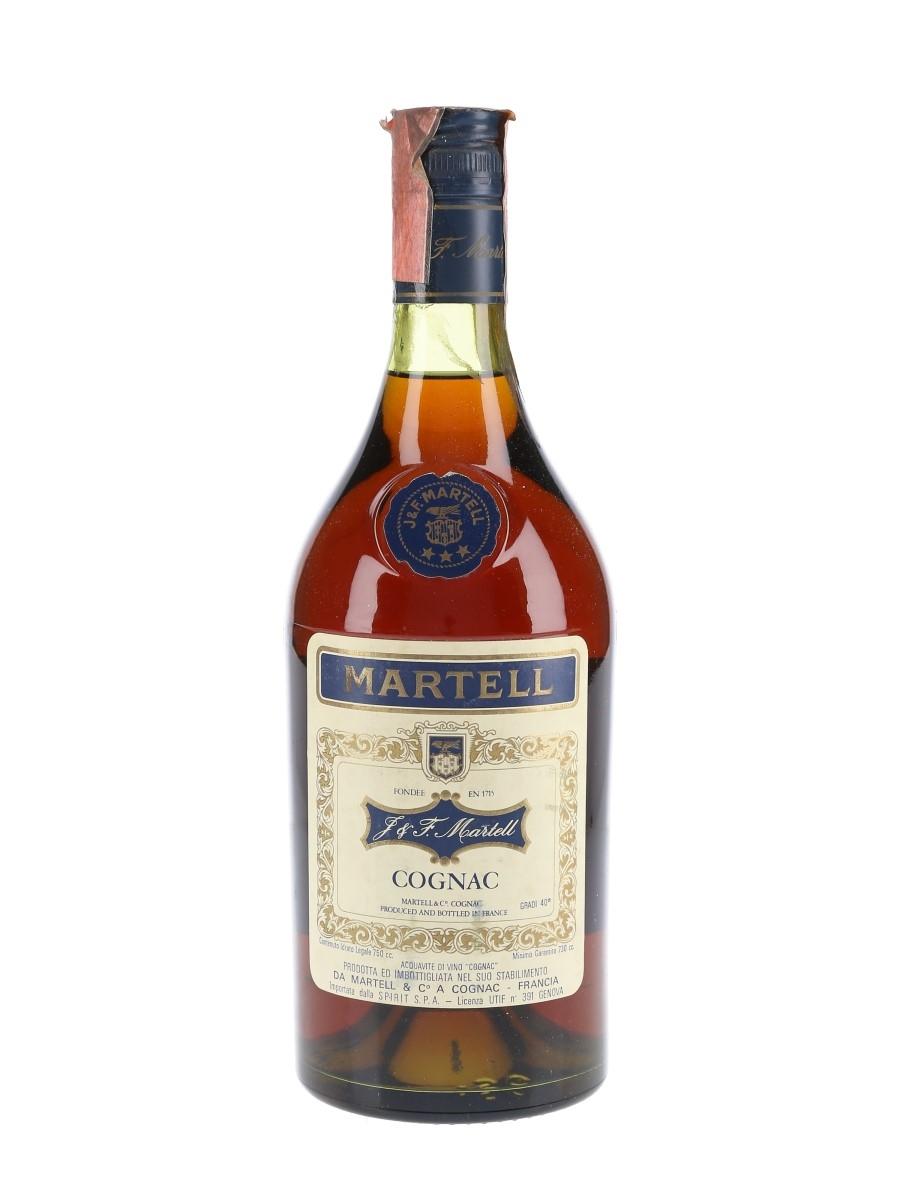 Martell 3 Star VS Bottled 1970s - Spirit 75cl / 40%