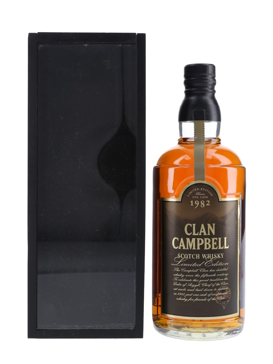 Clan Campbell 1982 15 Year Old Friends Of The Clan 70cl