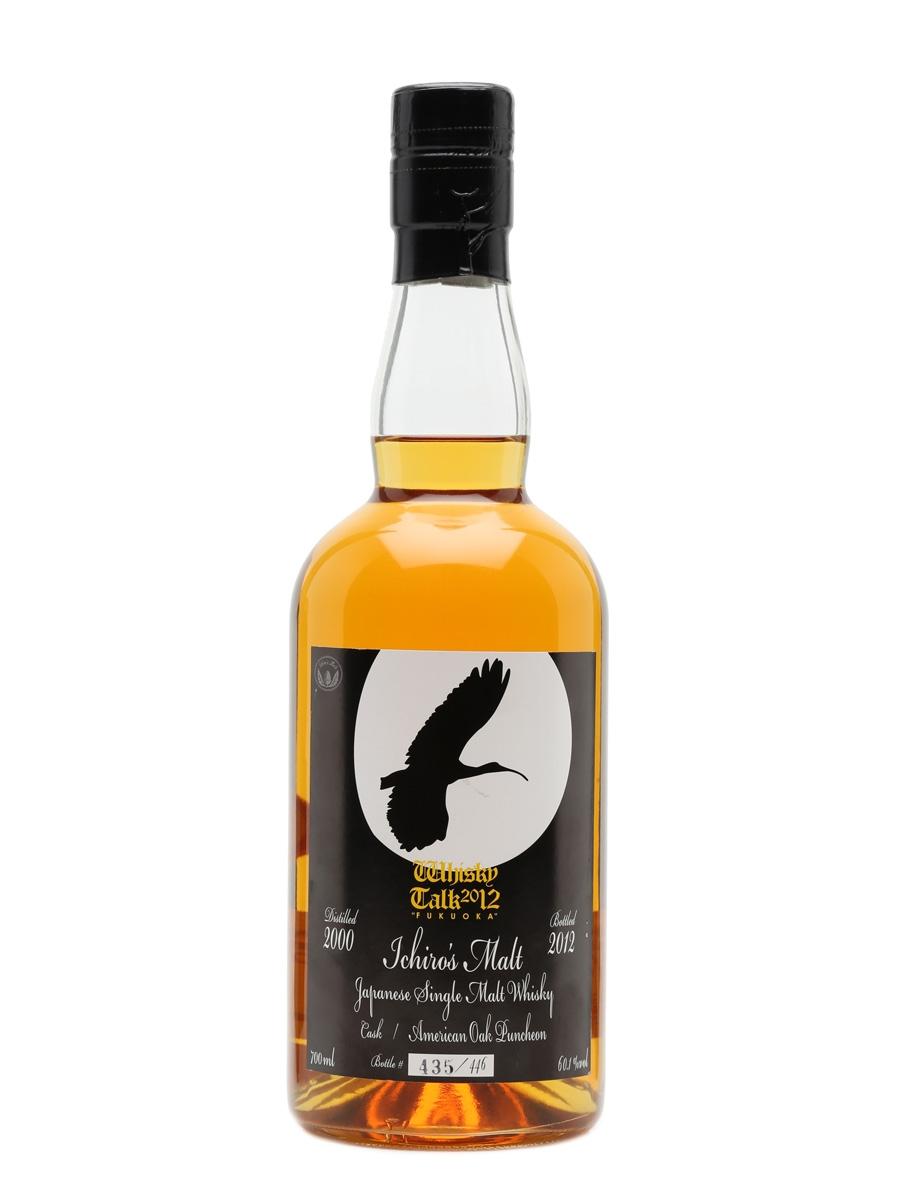 Hanyu 2000 Ichiro's Malt The Whisky Talk 2012 70cl / 60.1%